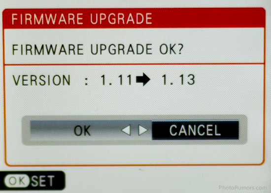 Firmware Update
