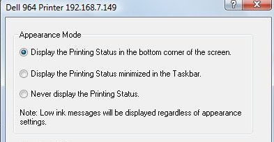 Fix Dell False Ink Warning