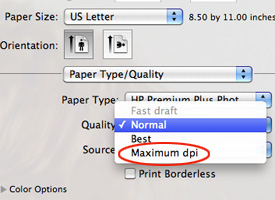 Maximum DPI Setting