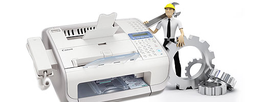 hp fax machine troubleshooting