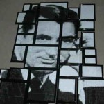 Cary Grant rasterized