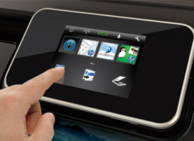 Photo Printer Touchscreen