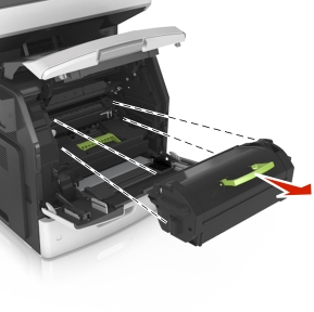 Remove Toner Cartridge