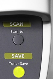 Toner Save Button