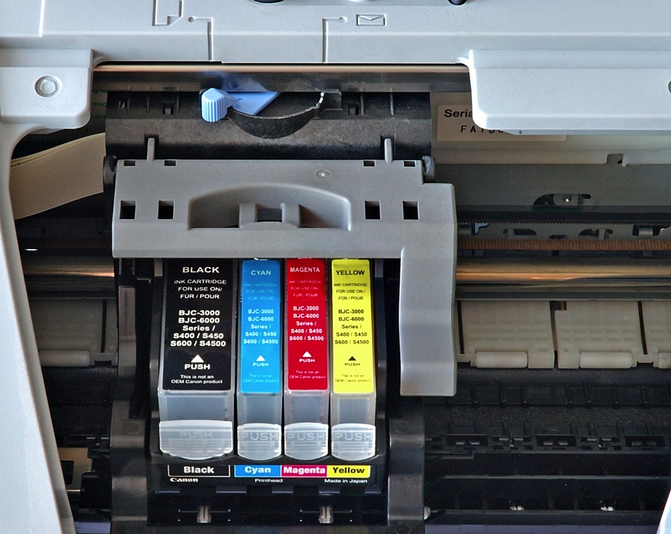 4-Color Inkjet Printer