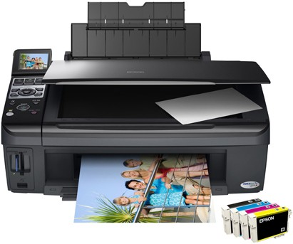 breakdown of inkjet printing technology