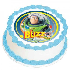 Edible Buzz Lightyear Cake