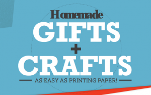 Ink and paper DIY gift ideas