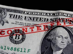Counterfeited USD