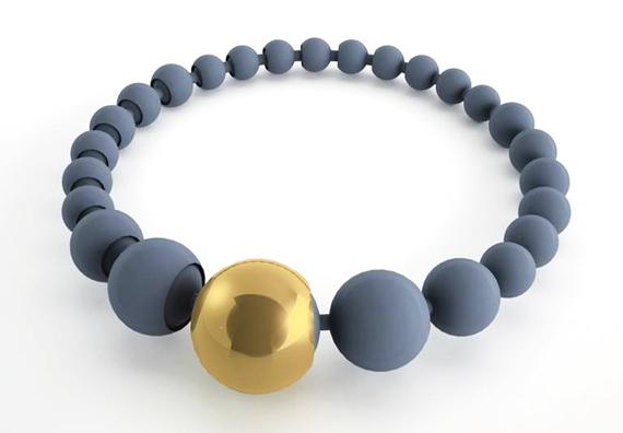 A 3D printed bracelet
