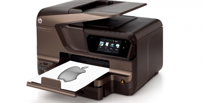 Apple Logo Printer