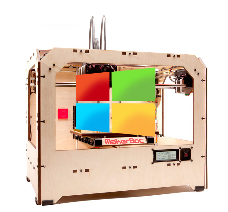 Windows 8 3D Printing