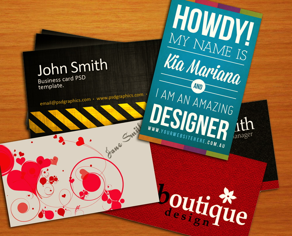 Print your own business cards flashek Image collections