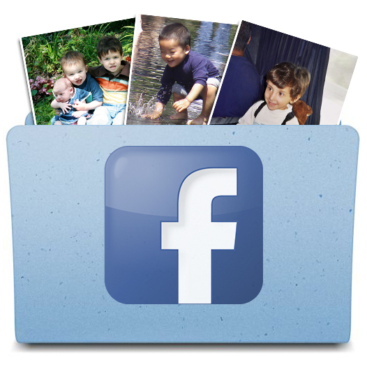 how to find archived photos on facebook