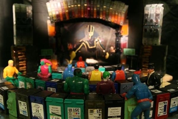 Ink Cartridge Theater