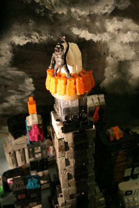 King Kong Diorama