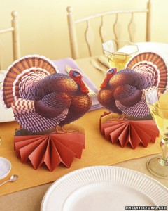 Turkey Centerpieces