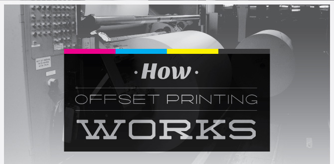 How Offset Printing Works Infographic Lead In Graphic