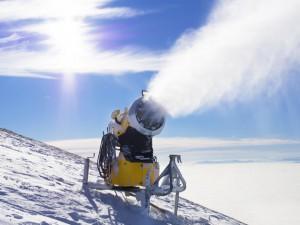 Sochi Olympics Snow Cannon