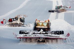 Sochi Olympics Snow Grooming Machine