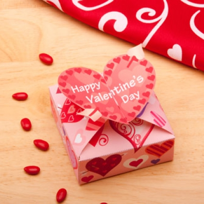 Valentines Day Printable Candy Box