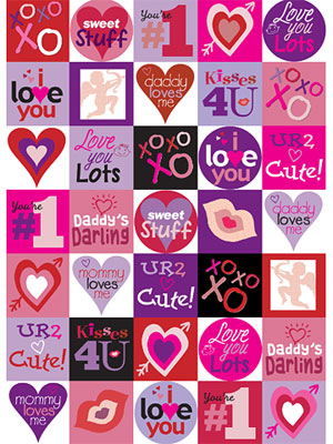 Valentines Day Printable Stickers