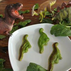 3D Dinosaur Food