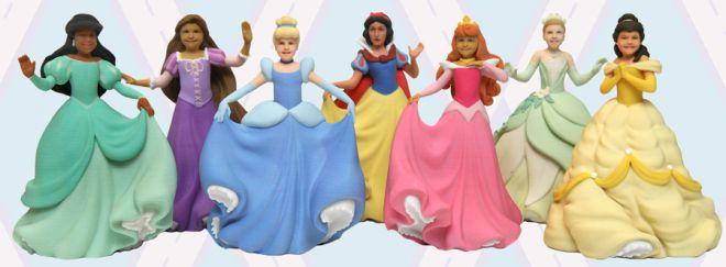 3d Princesses