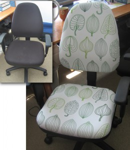 Touched Up Office Chair