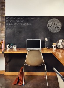Chalkboard Walls for To-Dos or Notes