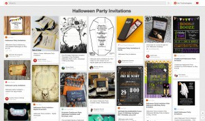 Pinterest Halloween Party Invitations