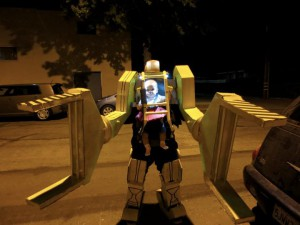Power Loader Aliens Baby Costume