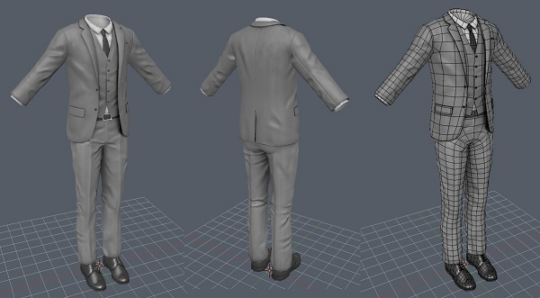 3D Printed Formal Suit