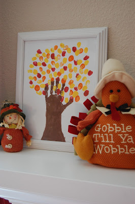 Turkey and Scarecrow Decorations