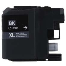 LC103BK Ink Cartridge - Brother Compatible (Black)