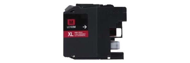 LC103M Ink Cartridge - Brother Compatible (Magenta)