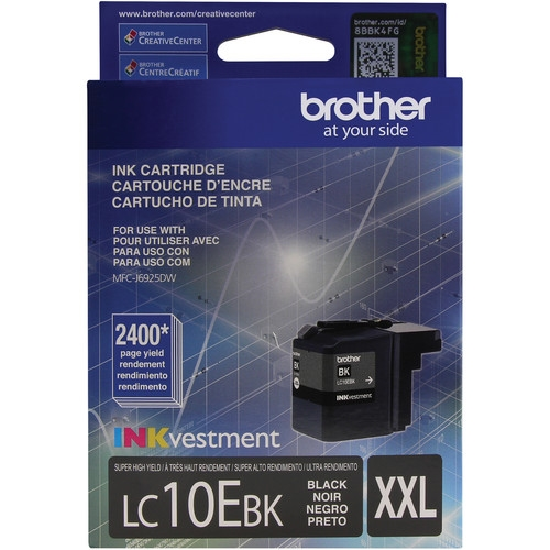LC10EBK Ink Cartridge - Brother Genuine OEM (Black)