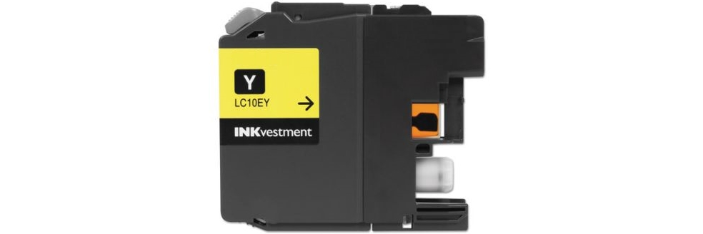 LC10EY Ink Cartridge - Brother Compatible (Yellow)
