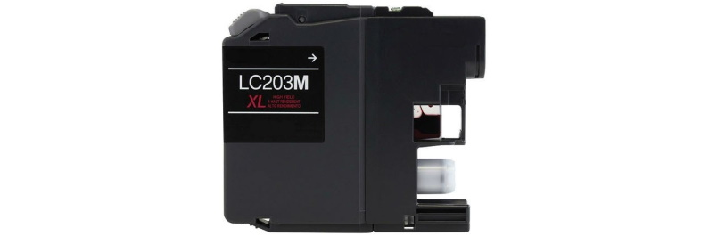 LC203M Ink Cartridge - Brother Compatible (Magenta)