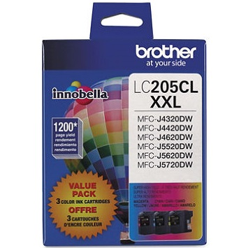 LC2053PKS Ink Cartridge - Brother Genuine OEM (Bundle Pack)