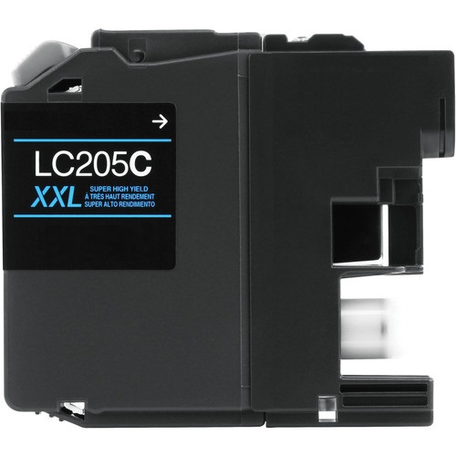 LC205C Ink Cartridge - Brother Compatible (Cyan)