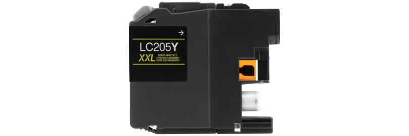 LC205Y Ink Cartridge - Brother Compatible (Yellow)