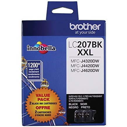 LC2072PKS Ink Cartridge - Brother Genuine OEM (Multipack)