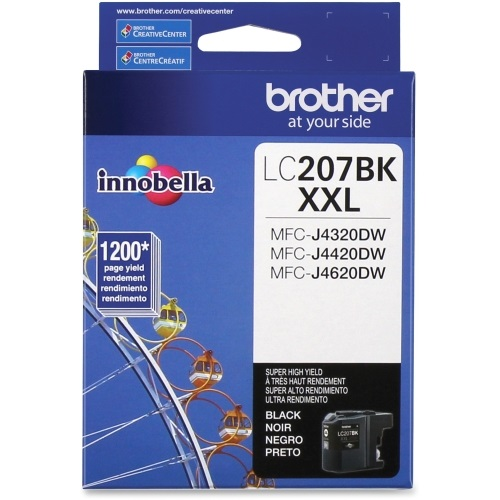 LC207BK Ink Cartridge - Brother Genuine OEM (Black)