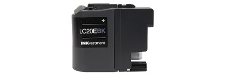 LC20EBK Ink Cartridge - Brother Compatible (Black)