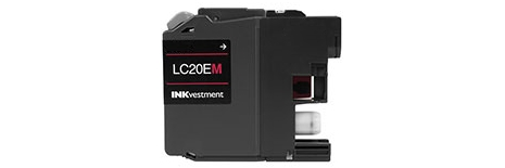 LC20EM Ink Cartridge - Brother Compatible (Magenta)