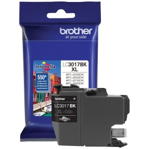 LC3017BK Ink Cartridge - Brother Genuine OEM (Black)
