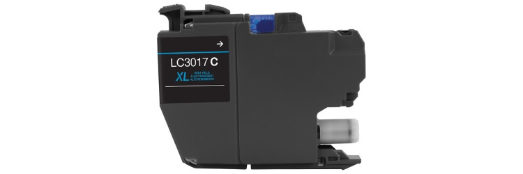 LC3017C Ink Cartridge - Brother Compatible (Cyan)