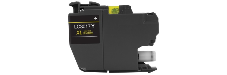 LC3017Y Ink Cartridge - Brother Compatible (Yellow)