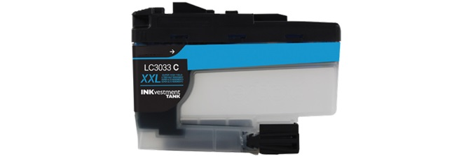 LC3033C Ink Cartridge - Brother Compatible (Cyan)